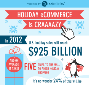 Holiday E-commerce Infographic